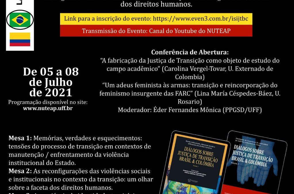 I Seminário Internacional sobre Justiça de Transição Brasil & Colômbia – NUTEAP/UFF