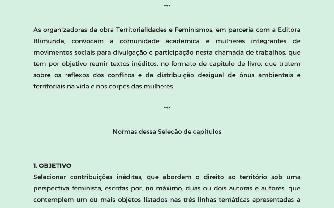 Convite de publicação em obra coletiva – Editora Blimunda